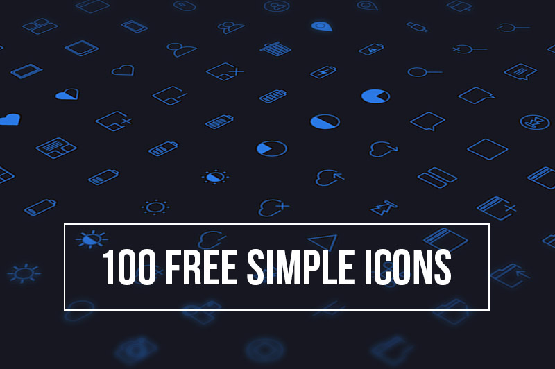 100 Free Simple Icons