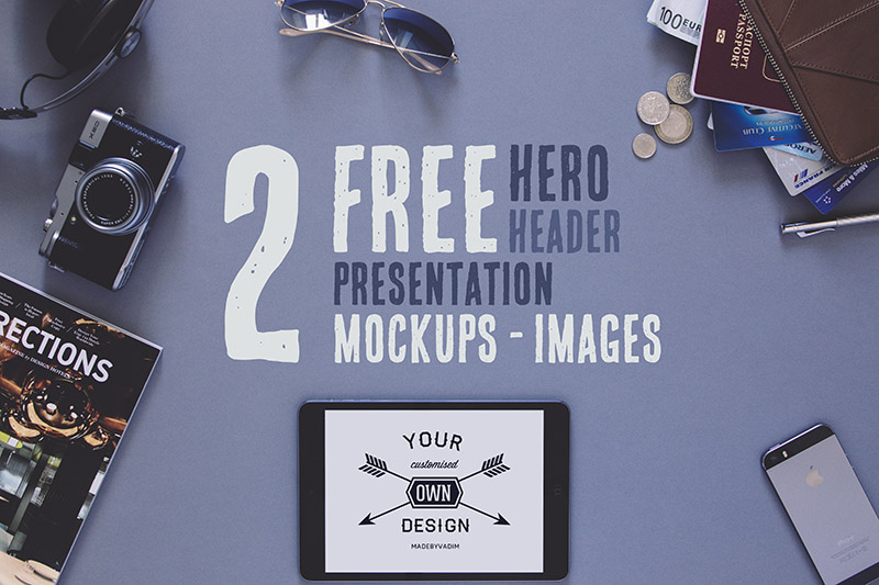 2 Free Hero:Header Presentation Images
