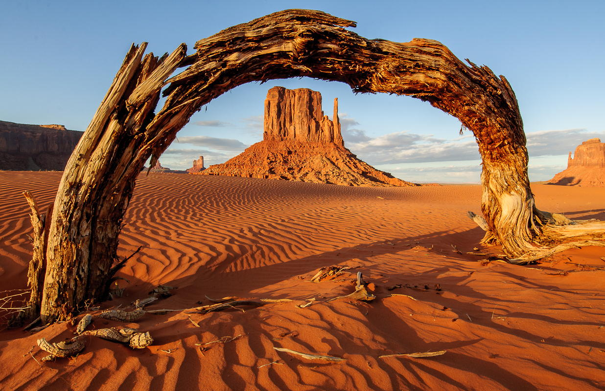 %22Arch Window%22 - Monument Valley, Utah by Matthew Scott Cooper