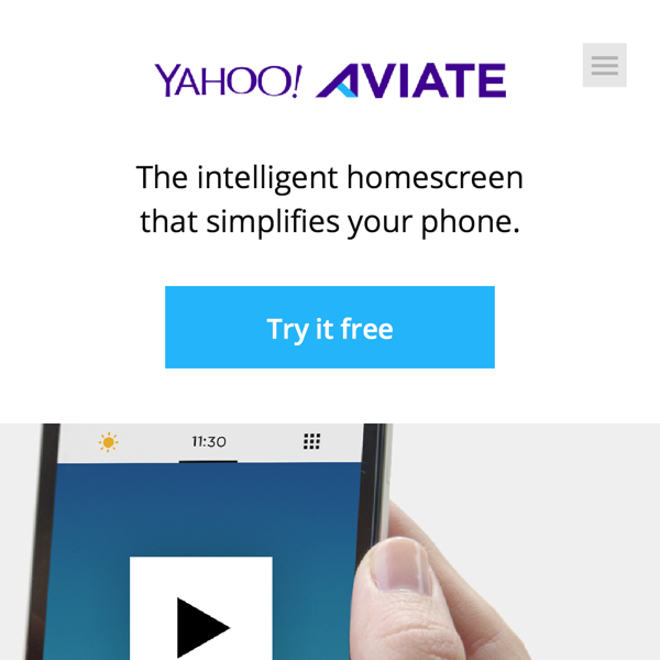 Aviate, The intelligent homescreen that simplifies your phone. (20141027)