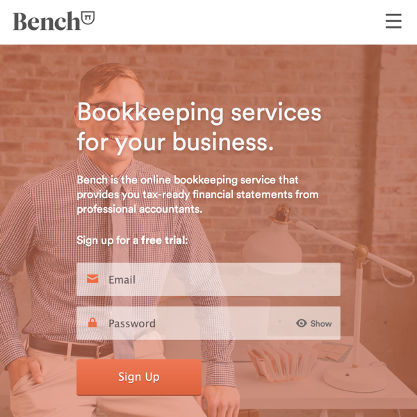Bench — Bookkeeping Services for Your Business (20141027)
