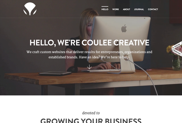 Coulee Creative - Creative Agency | Web Design & Marketing (20141027)