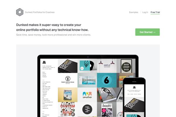 Create A Free Online Portfolio Website | Dunked (20141027)