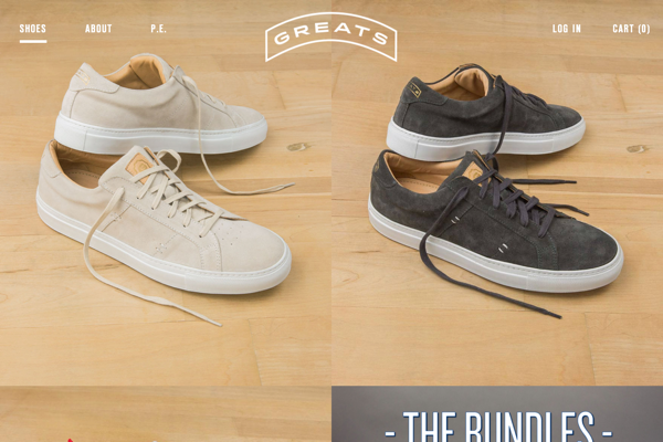 Designer Quality Men's Sneakers & Footwear | Greats (20141027)