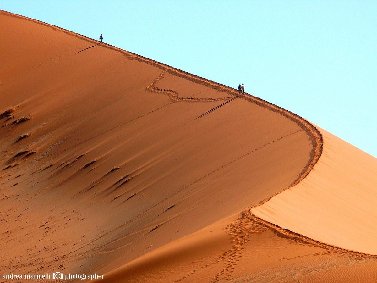 Dune 45, Namibia by Andrea Marinelli