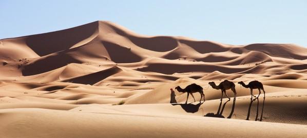 Erg Chebbi, Morocco by Jan Miklín
