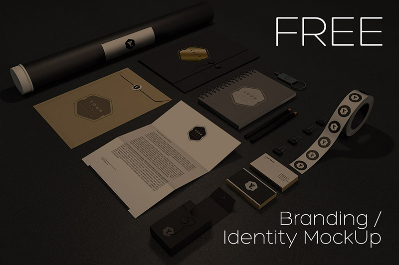 Free Branding : Identity MockUp