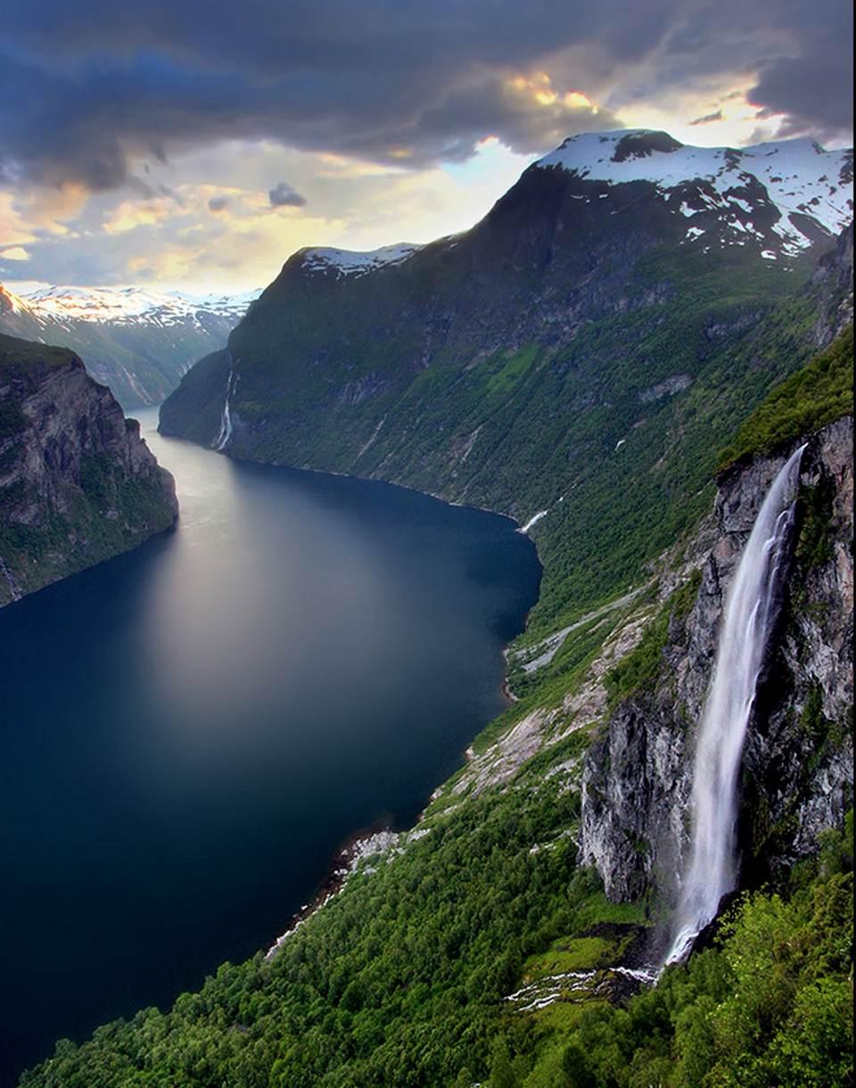 Geiranger Fjord, Norway by Ola Moen