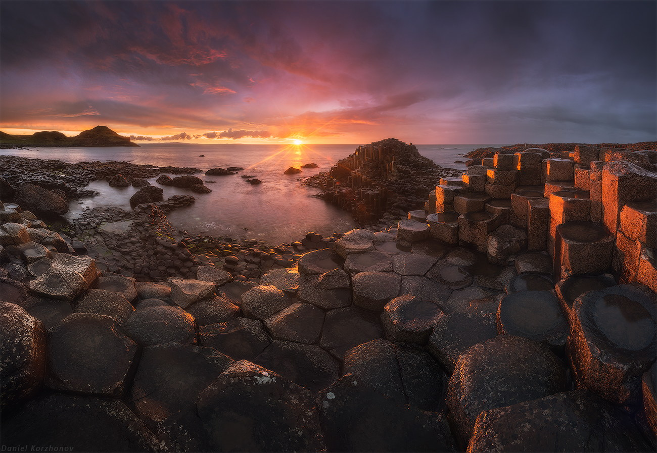 Giants Causeway, Ireland by Daniel Kordan