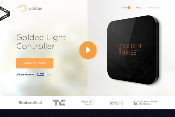 Goldee - Smart Light Controller (20141027)