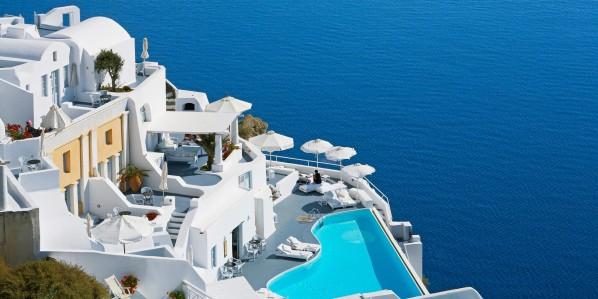 Katikies Hotel in Santorini, Greece1