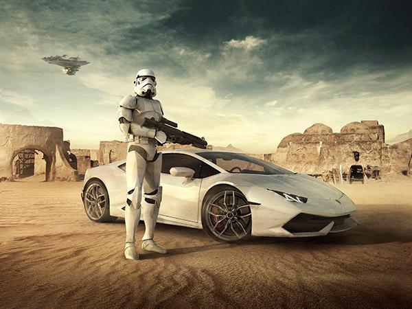 Lamborghini Advertising by Allan Portilho