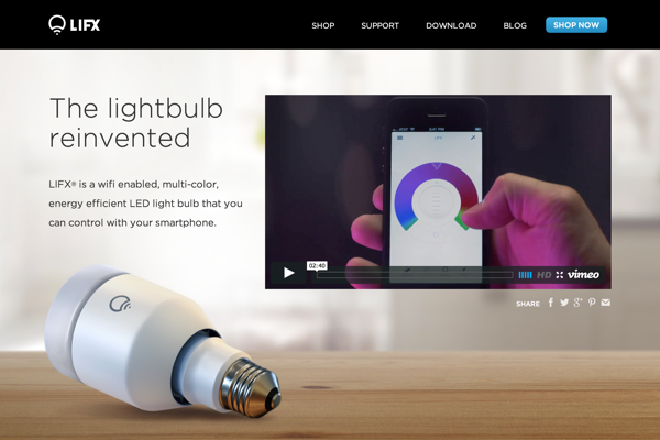 LIFX - the smart wifi light bulb (20141027)