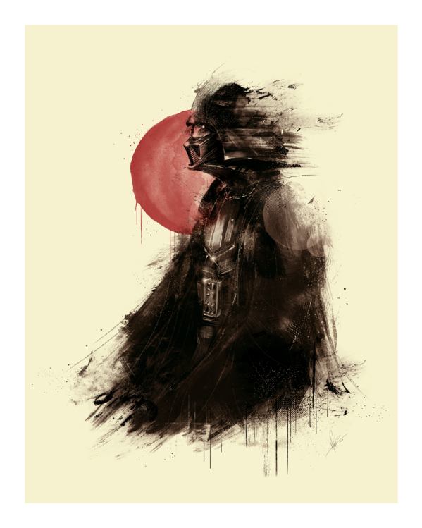 Lord Vader by Marie Bergeron