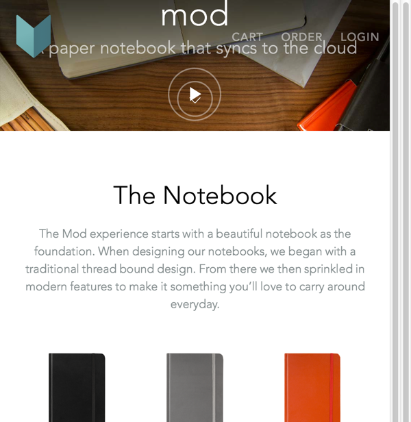 Mod Notebooks | A Paper Notebook That Syncs To The Cloud (20141027)