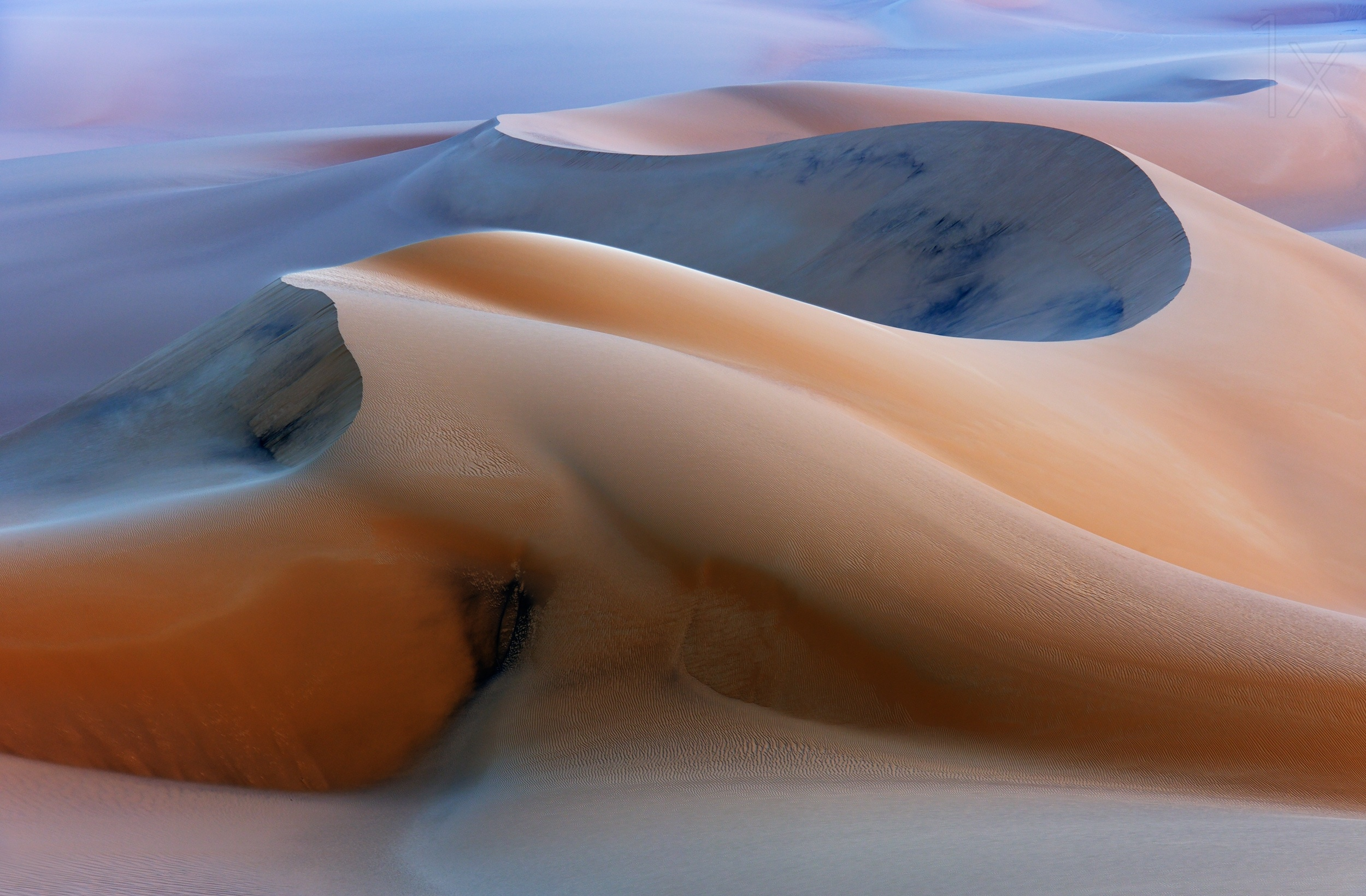 Morning in the Sahara by Stephan Fürnrohr
