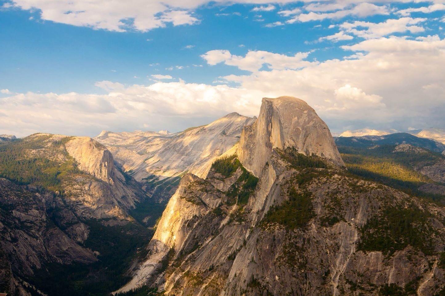 Overlooking Yosemite national park, CA by Ben Karpinski