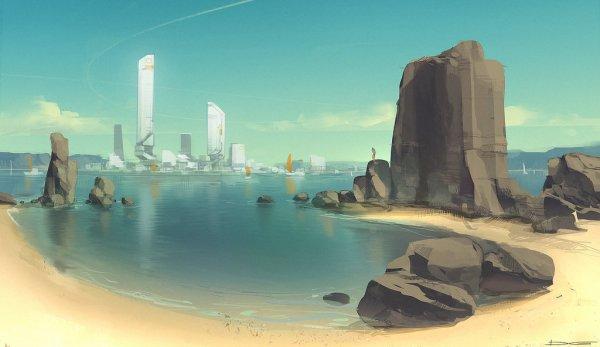 QR Coast Environment by Talros
