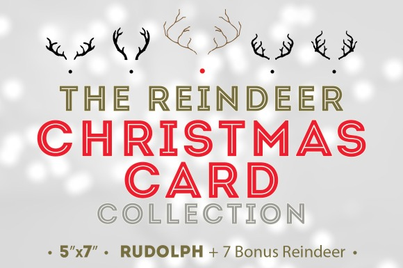 Reindeer Christmas Cards