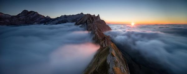 Schäfler mountain, Switzerland by Tobias Knoch