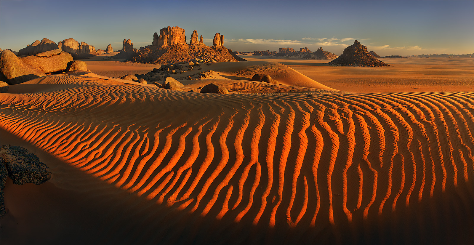 The heart of the Sahara by Yury Pustovoy