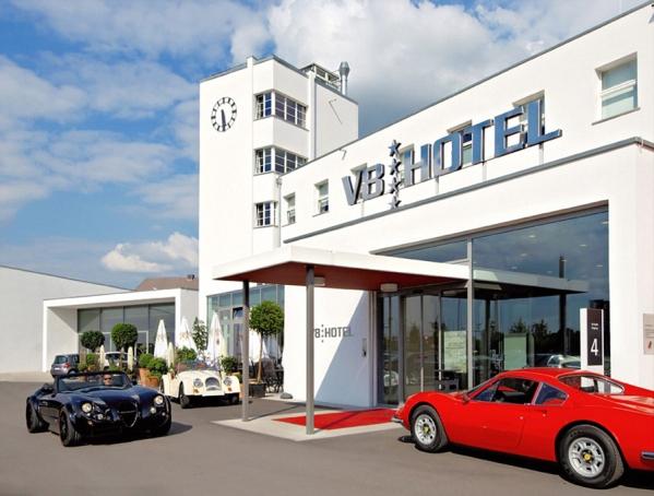 V8 Car Themed Hotel in Stuttgart, Germany