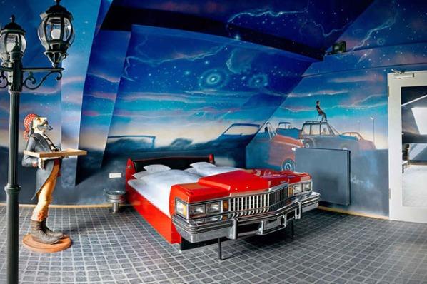 V8 Car Themed Hotel in Stuttgart, Germany2