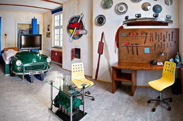 V8 Car Themed Hotel in Stuttgart, Germany3