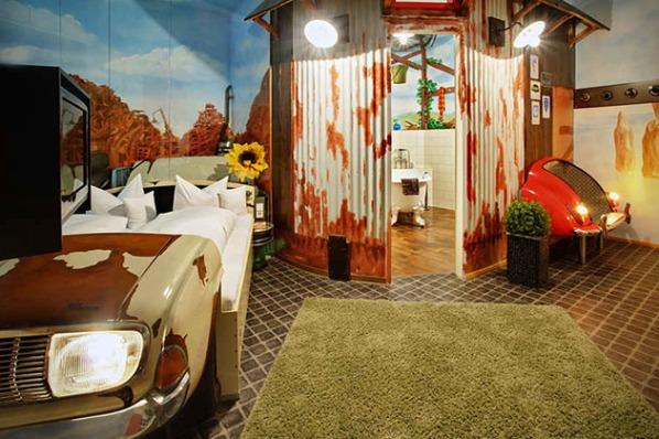 V8 Car Themed Hotel in Stuttgart, Germany5