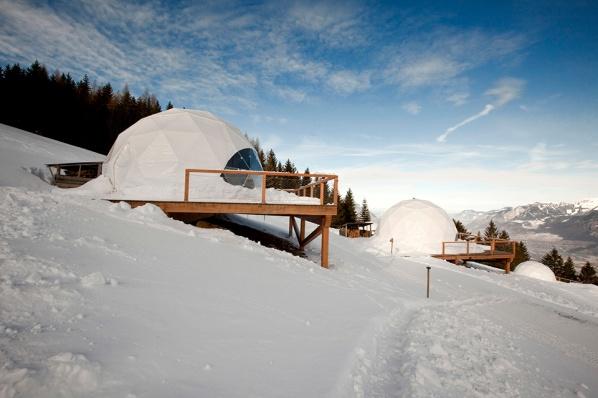 Whitepod Eco-Luxury Hotel1