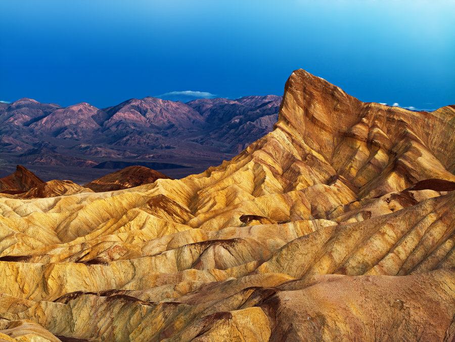 Zabriskie Point, Death Valley National Park, Ca.