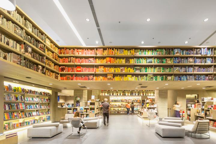 Aiva bookstore by Studio Arthur Casas, Rio de Janeiro – Brazil