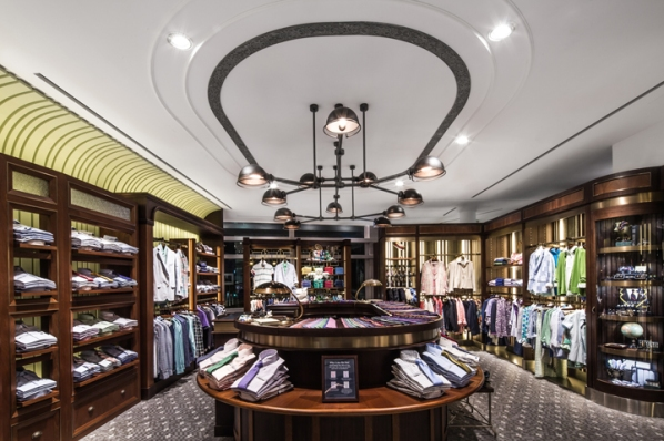 Brooks Brothers store by Stefano Tordiglione, Hong Kong