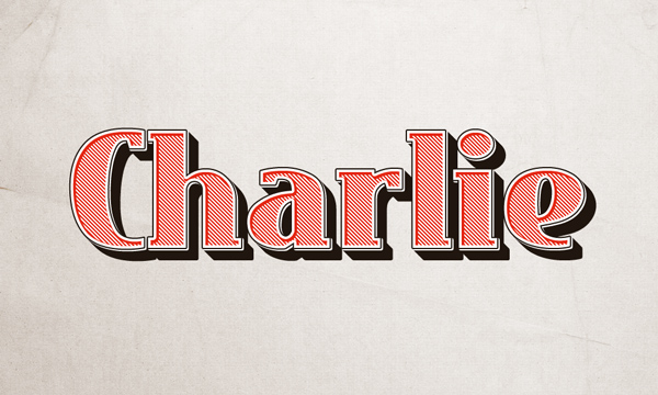 charlie text effect 750+ Free Photoshop Layer Styles