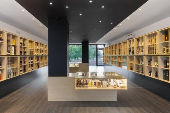 Congresso das Garrafas wine store by Tiago do Vale Arquitectos, Braga – Portugal