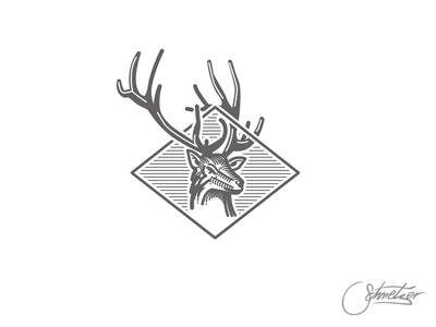 Deer-logomark by Martin Schmetzer