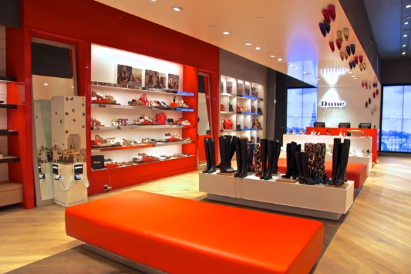 Dune London store by Four-by-Two, New York City – US