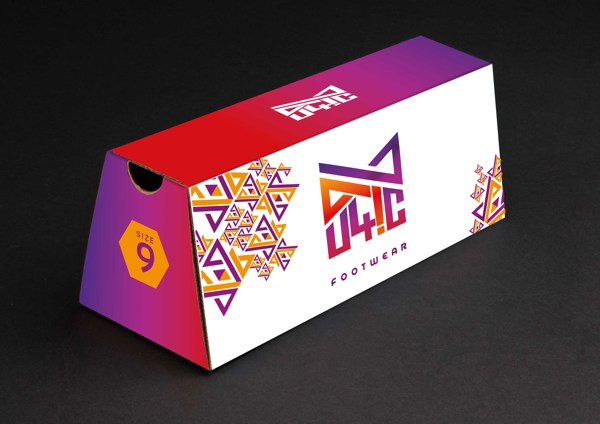 Euphoric Shoe Box Packaging by Indrajala Moturi
