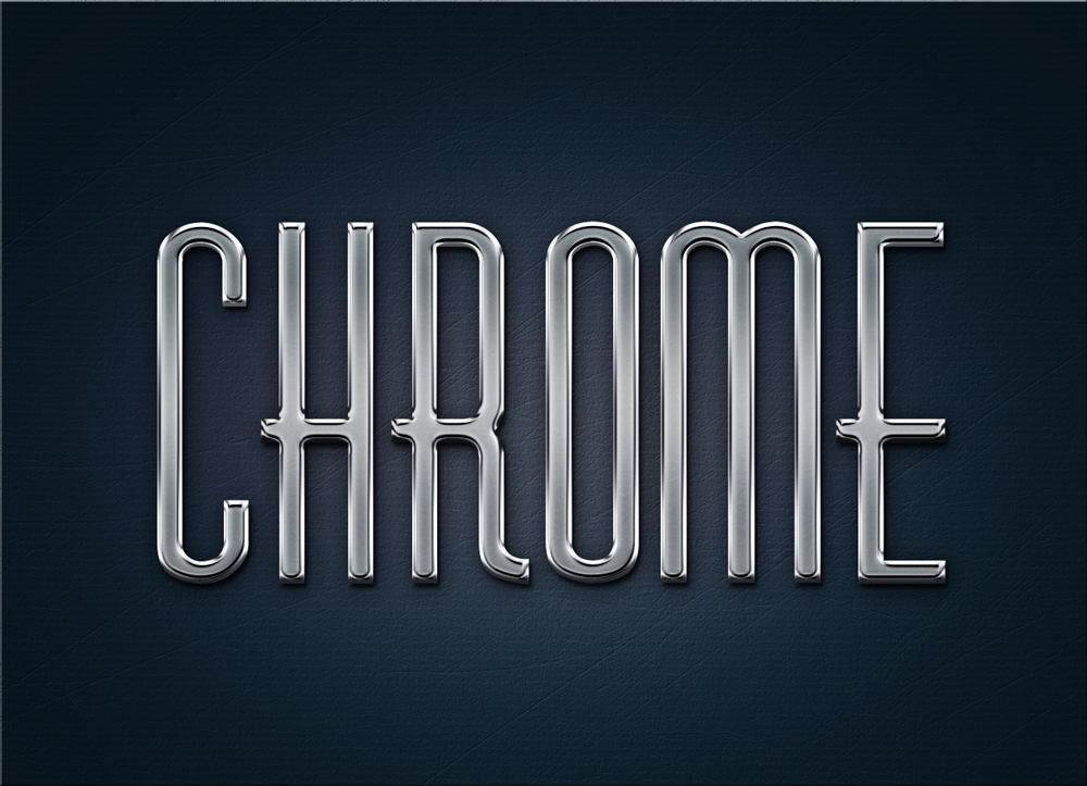 free metal chrome layer style 750+ Free Photoshop Layer Styles