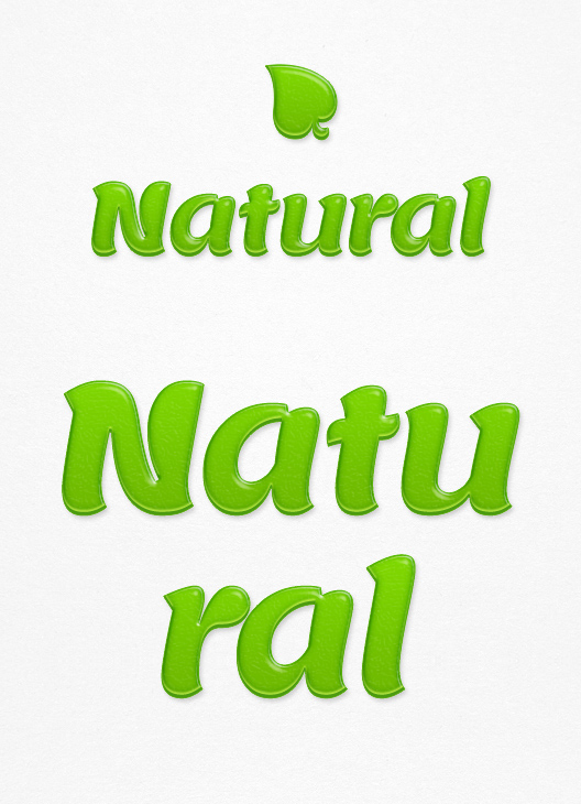 natural text effect 750+ Free Photoshop Layer Styles
