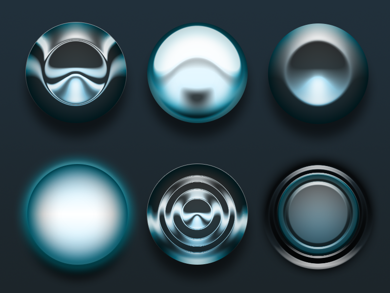 one layer style circles psd by zak keen 750+ Free Photoshop Layer Styles