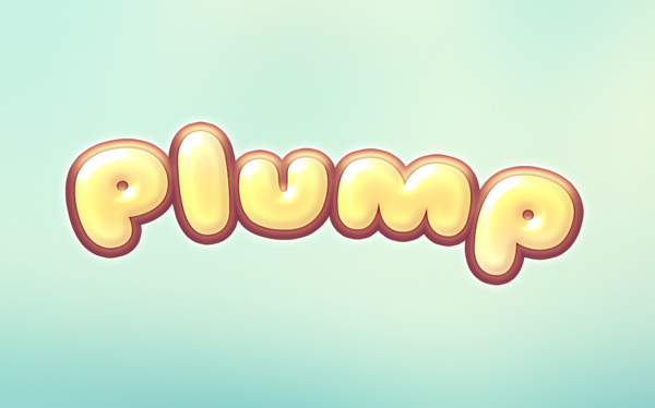 plump text effect 750+ Free Photoshop Layer Styles