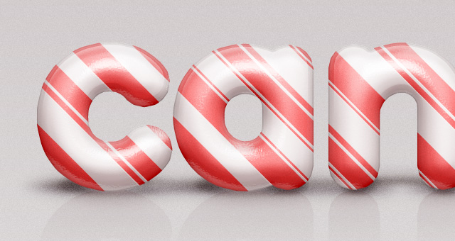 psd candy cane text effect 750+ Free Photoshop Layer Styles