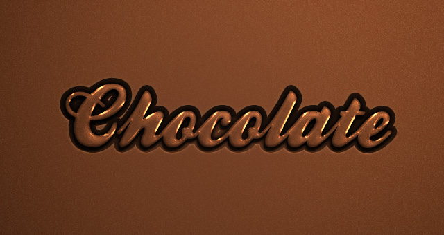 psd chocolate text effect 750+ Free Photoshop Layer Styles