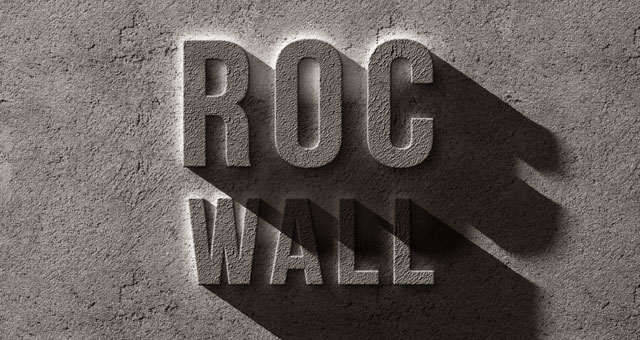 psd concrete rock text effect 750+ Free Photoshop Layer Styles