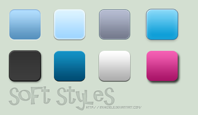 soft styles by invhizible 750+ Free Photoshop Layer Styles