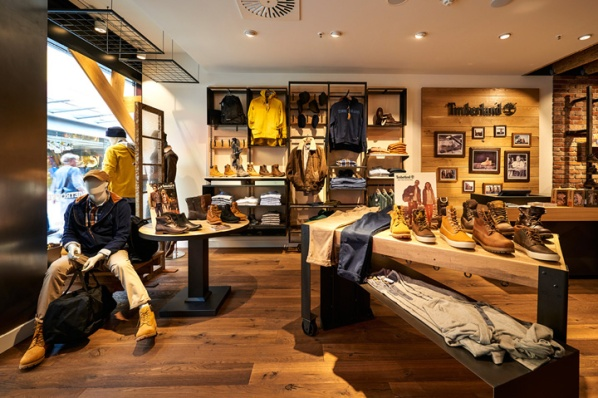 Timberland store by ARNO, Sulzbach - Germany