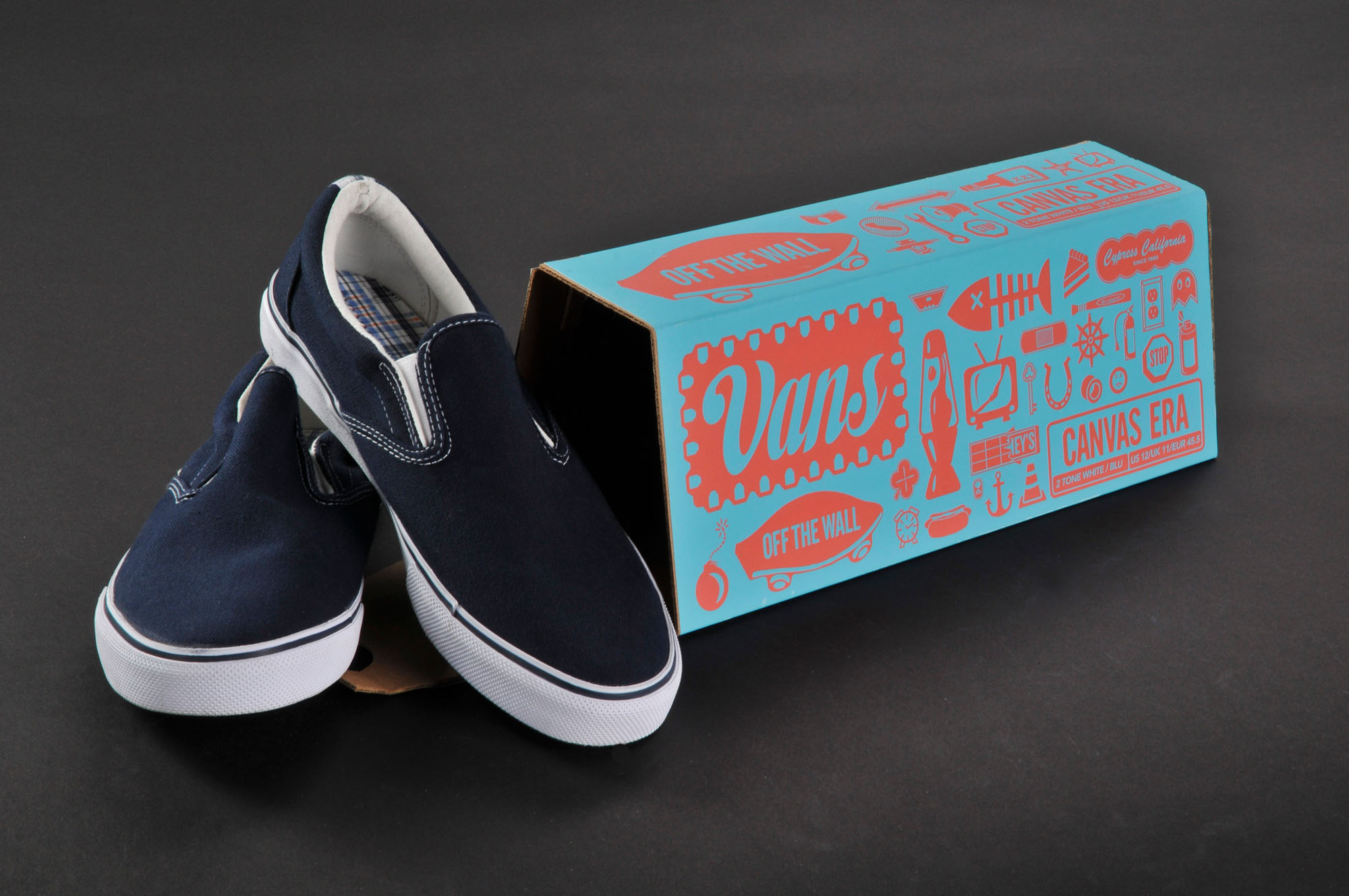 Vans Shoeboxes by Nate Eul
